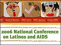 Conferencia Nacional de Latinos y el SIDA de 2006, en Miami Beach, EE.UU.