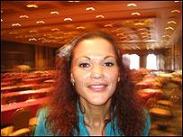 Raquel Sapién, activista en la prevención del SIDA