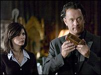 Scene from the Da Vinci Code film