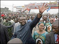 Jean-Pierre Bemba and supporters