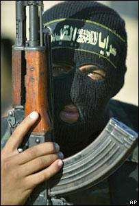 Боевик ''Исламского джихада''
