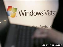 Microsoft Vista display