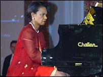 Condoleezza Rice at ARF dinner - 27/7/06