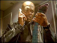 Samuel L Jackson in Snakes on a Plane