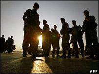 Soldados en Líbano.