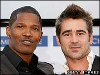 Jamie Foxx and Colin Farrell