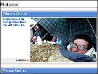 Reuters' website
