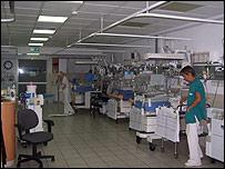 Servicios de Obstetricia, Pediatría y Neonatología