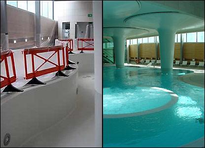 "The main ""Minerva"" pool at Bath's new spa"