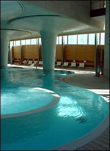 "The ""Minerva"" pool at Bath's new spa"