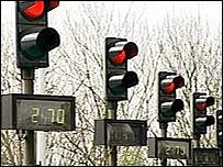 Bridge toll lights