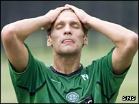 Celtic midfielder Stilian Petrov