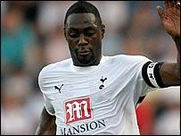 Tottenham captain Ledley King