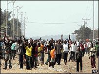 Disturbios en Congo