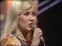 Abba singer Agnetha Faltskog