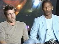 stars Colin Farrell and Jamie Foxx