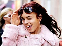 Lindsay Lohan in Just My Luck