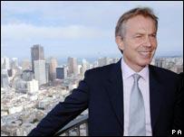 Tony Blair in San Francisco