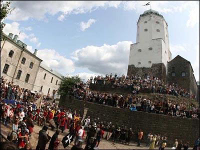 Военно-исторический фестиваль в Выборге