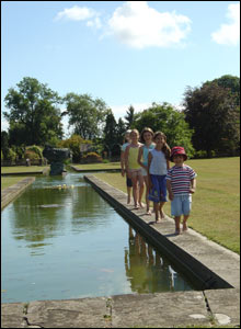 A family day out at Duffryn Gardens, as captured by Gareth Jones