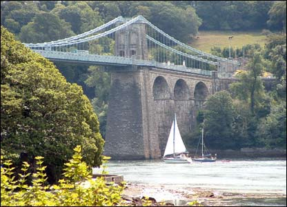 Sunny day at Menai, from Mathew Neal of Bangor