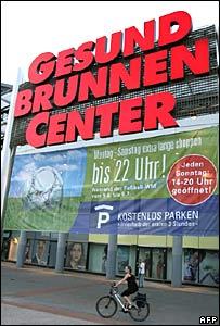 Gesundbrunnen shopping centre in Berlin