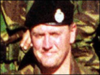 Steven Roberts was killed in Iraq after being told to hand his body armour back