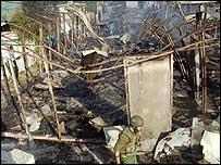 Masacre de Qana en 1996.