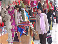 Chinese textiles market