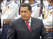 Venezuelan President Hugo Chavez in Vietnam