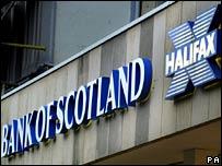 Bank of Scotland and Halifax logos
