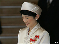 Princess Kiko on 25 May 2006