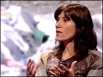 Fashion designer Bella Freud