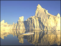 Iceberg in Disco Bay, Greenland