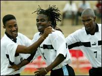 Members of Botswana's national side
