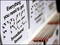 Talk Talk broadband campaign