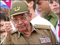 Raul Castro in 2002