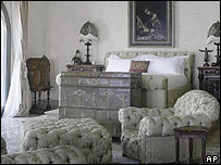 Cher's bed