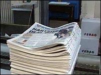 Coventry Telegraph press