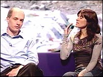Alain de Botton and Bella Freud