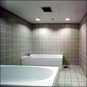 Luxury players' baths