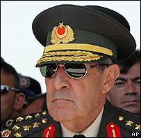 New Turkish armed forces chief Gen Yasar Buyukanit