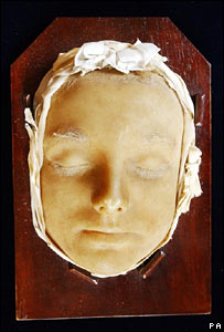 Mary Queen of Scots' death mask