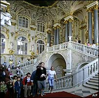 The Hermitage in St Petersburg
