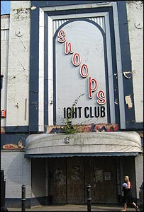 The defunct Snoops nightclub on Dover's Castle Street