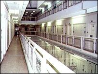 Interior of Risley women's prison