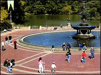 Central Park, New York.  Image: BBC