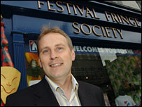 Paul Gudgin, director, Edinburgh Festival Fringe