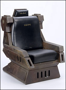 Klingon captain's chair