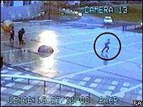CCTV footage of Damilola Taylor